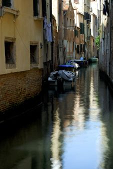 Free Venice - Canal Series Stock Photography - 1199692