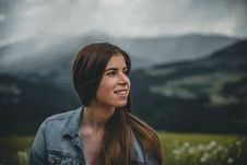 Free Close-Up Photography Of A Smiling Woman Stock Photography - 119007872