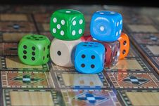 Free Games, Dice Game, Dice, Indoor Games And Sports Royalty Free Stock Photo - 119034565