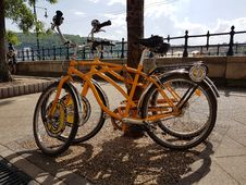 Free Bicycle, Land Vehicle, Road Bicycle, Bicycle Wheel Stock Photography - 119035132