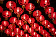 Free Photo Of Red Paper Lanterns Royalty Free Stock Photos - 119196908