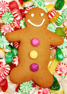 Free Gingerbread Man Royalty Free Stock Images - 11931879