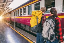 Free Backpack, Commute, Commuters Stock Photo - 119308720