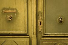 Free Door, Wood, Wood Stain, Metal Royalty Free Stock Image - 119317006