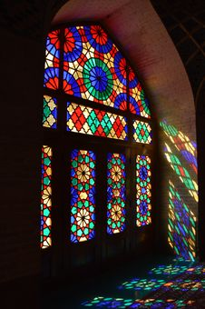 Free Stained Glass, Glass, Window, Light Royalty Free Stock Photo - 119411145