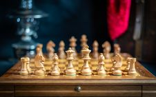 Free Games, Chess, Board Game, Chessboard Royalty Free Stock Image - 119411356