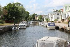 Free Waterway, Body Of Water, Water Transportation, Canal Royalty Free Stock Photos - 119411358
