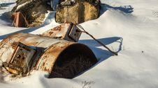Free Snow, Winter, Geological Phenomenon, Vehicle Royalty Free Stock Photo - 119411375