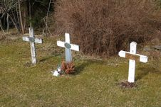 Free Grave, Cross, Cemetery, Headstone Stock Photos - 119411493