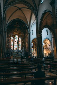 Free Stained Glass, Place Of Worship, Building, Cathedral Royalty Free Stock Photography - 119411577