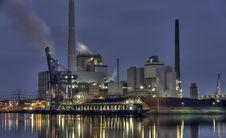 Free Industry, Reflection, Skyline, Cityscape Royalty Free Stock Photography - 119412007