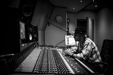Free Record Producer, Audio Equipment, Black And White, Audio Stock Photos - 119412013