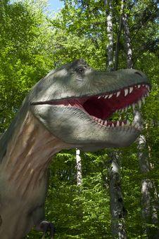 Free Dinosaur, Tree, Tyrannosaurus, Forest Stock Photo - 119412120