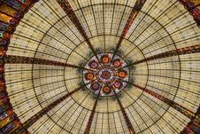 Free Stained Glass, Glass, Dome, Window Royalty Free Stock Photos - 119412338