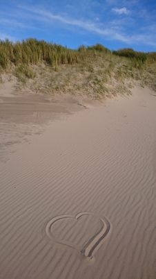 Free Sand, Singing Sand, Dune, Aeolian Landform Stock Photography - 119412522