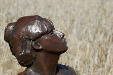 Free Sculpture, Metal, Statue, Bronze Sculpture Stock Photos - 119412613