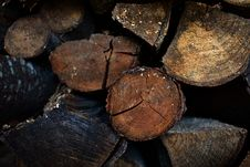 Free Stack Of Wood Logs Stock Image - 119467491
