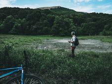 Free Man Wearing White Shirt Standing On Green Grass Field Stock Photos - 119467733