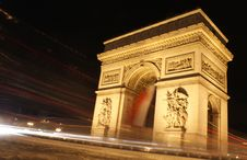 Free Arc De Triomphe Royalty Free Stock Photography - 11950967