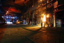 Free Steelmaking Iron Works Stock Image - 11958431