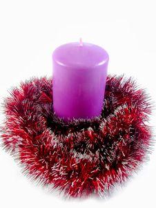 Free Christmas Candle Stock Image - 11967631