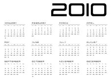 Free Calendar Grid Sunday-Saturday Royalty Free Stock Photography - 11967897