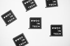 Free White And Black Woc In Tech Text Overlay Royalty Free Stock Photography - 119666447