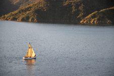 Free White Sail Boat On Water Near Land Stock Image - 119735181