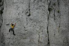 Free Climbing, Rock Climbing, Sport Climbing, Rock Stock Photography - 119765992