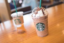 Free Drink, Milkshake, Dairy Product, Frappé Coffee Stock Photography - 119766192