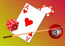 Free Games, Dice Game, Heart, Dice Royalty Free Stock Images - 119766379