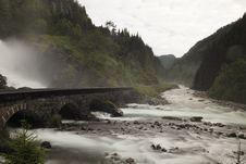 Free River, Waterfall, Rapid, Highland Stock Photos - 119766603