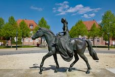 Free Statue, Horse, Sculpture, Monument Royalty Free Stock Image - 119766856