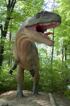 Free Dinosaur, Tyrannosaurus, Terrestrial Animal, Grass Stock Photography - 119767402