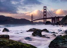 Free San Francisco Bridge, California Stock Photos - 119844813