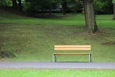 Free Bench, Furniture, Grass, Lawn Royalty Free Stock Photos - 119865708