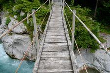 Free Bridge, Suspension Bridge, Inca Rope Bridge, Rope Bridge Stock Image - 119865861