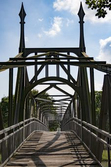 Free Bridge, Iron, Structure, Fixed Link Royalty Free Stock Images - 119865889