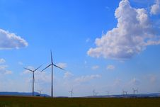 Free Sky, Wind Farm, Wind Turbine, Windmill Royalty Free Stock Image - 119866516