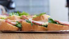 Free Food, Prosciutto, Appetizer, Sandwich Stock Photo - 119866640