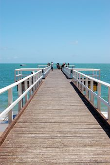 Free Sea, Pier, Sky, Ocean Stock Photo - 119866750