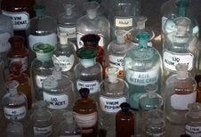 Free Bottle, Glass Bottle, Distilled Beverage, Water Stock Image - 119866811