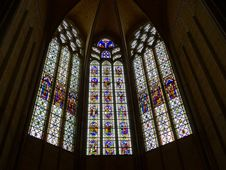 Free Stained Glass, Glass, Chapel, Window Royalty Free Stock Photography - 119866957
