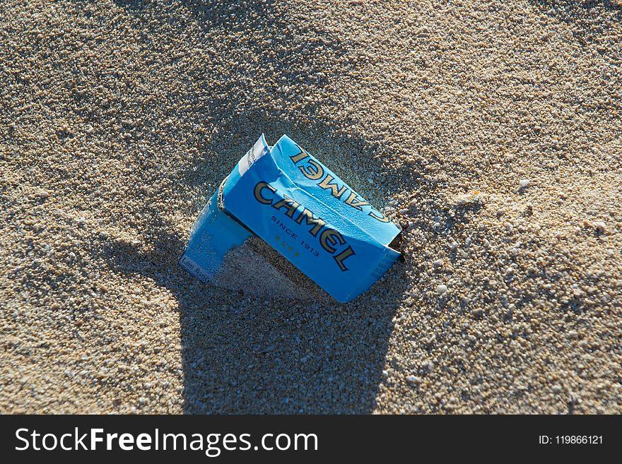 Blue, Soil, Sand, Grass