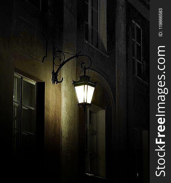 Darkness, Night, Light, Light Fixture