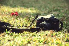 Free Black Nikon Dslr Camera On Ground Royalty Free Stock Photo - 119926195