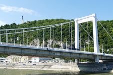 Free Bridge, Suspension Bridge, Fixed Link, Extradosed Bridge Stock Image - 119960391