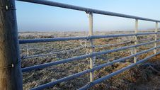 Free Fence, Winter, Sky, Rural Area Royalty Free Stock Photography - 119960987