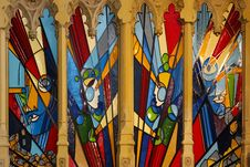 Free Art, Modern Art, Stained Glass, Window Royalty Free Stock Image - 119961096