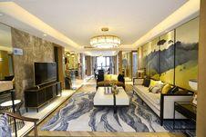 Free Living Room, Room, Interior Design, Ceiling Stock Photos - 119961103